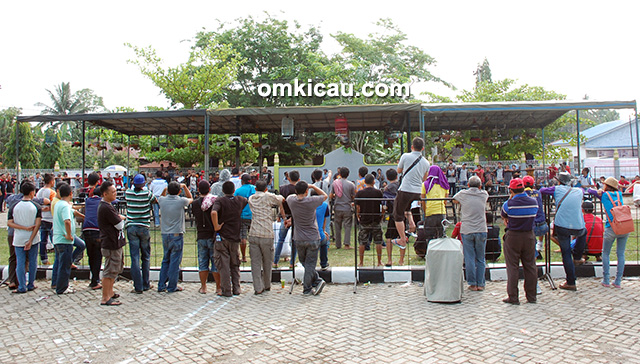 Suasana Lomba Bupati HSS Cup III