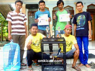 Kacer Asmara andalan Borneo BC