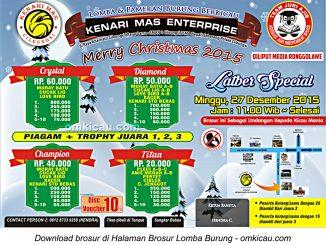 Brosur Latber Spesial Merry Christmas - Kenari Mas Enterprise, Bogor, 27 Desember 2015