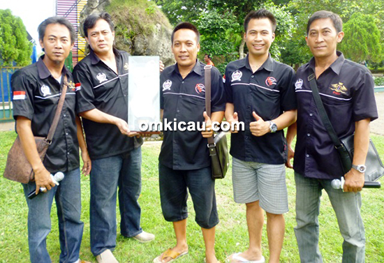 CBB SF juara umum single fighter