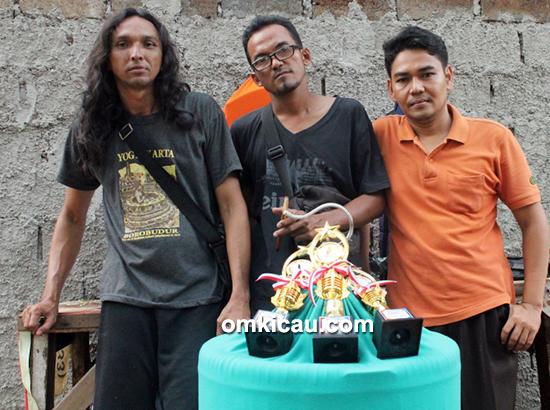 Om Budi, pemilik murai batu Banteng Hitam