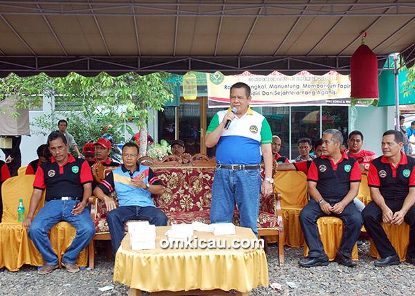 Sambutan Sekda Kabupaten Tapin