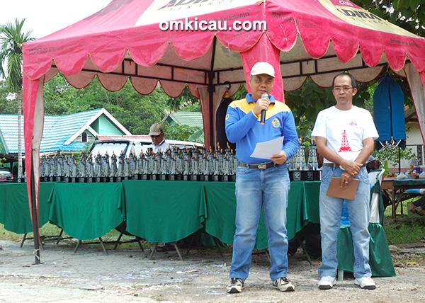 Pembukaan lomba burung Bupati Tabalong Cup