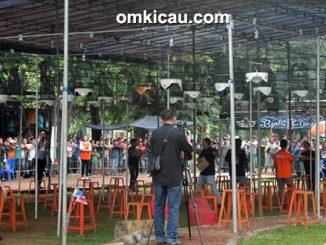 Lomba burung berkicau Jakarta Cup II