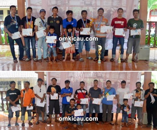 APBRI Cup - Foto bersama para pemenang