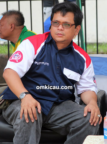 Om Ariza K Putra, ketua BnR Pusat