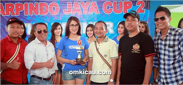 Juara umum BC Harpindo Jaya Cup II