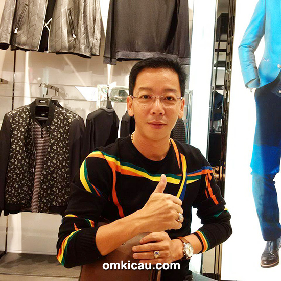 Om Awie Polo Homme