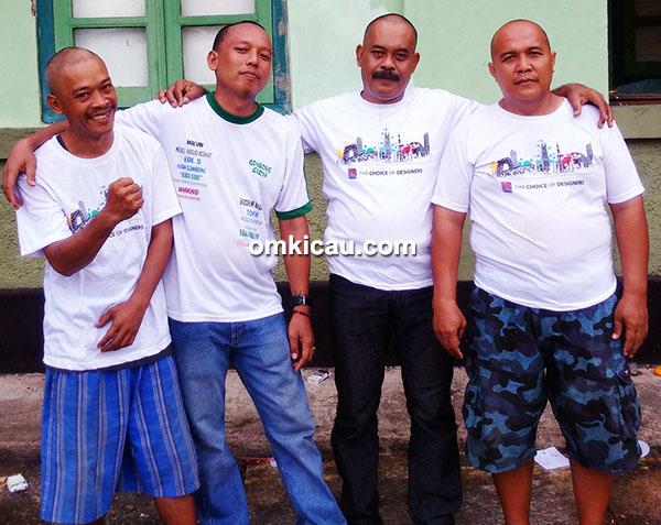 panitia Gombong Vaganza I cukur gundul