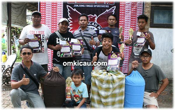 Om Yanto BnR (3 dari kiri) bersama Duta G&R
