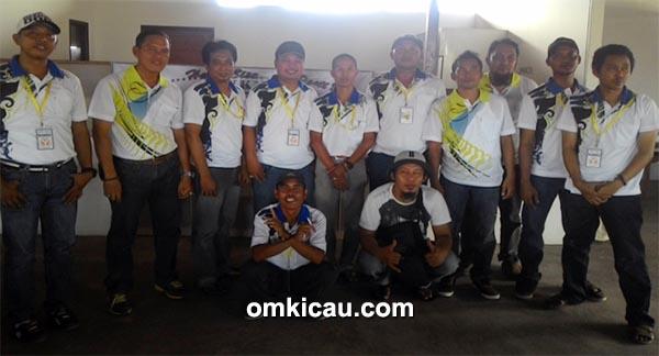 Panitia BKKM BC bersama tim juri