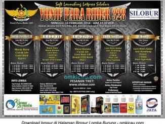 Brosur Latpres Silobur Yonif Para Rider 328, Depok, 14 Februari 2016