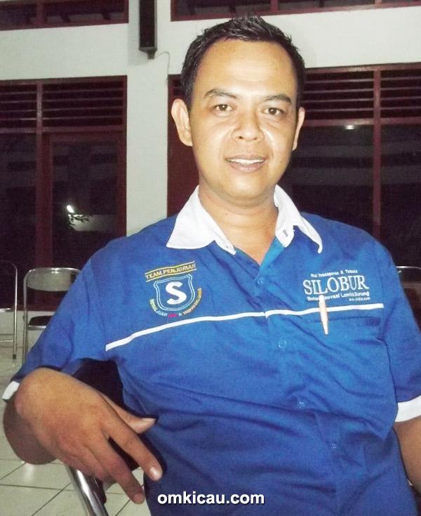 H Pincuk, ketua Silobur wilayah pantura