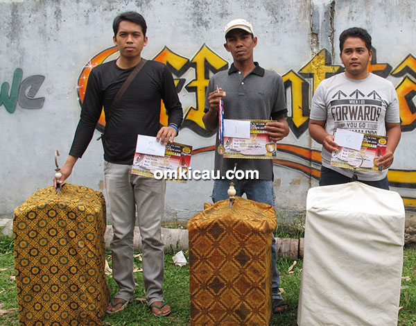 Juara 1-3 kapas tembak Kelas Ebod Jaya