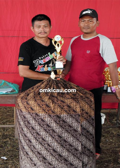 Om Tonny Soputan, pemilik murai Bujang Kurap