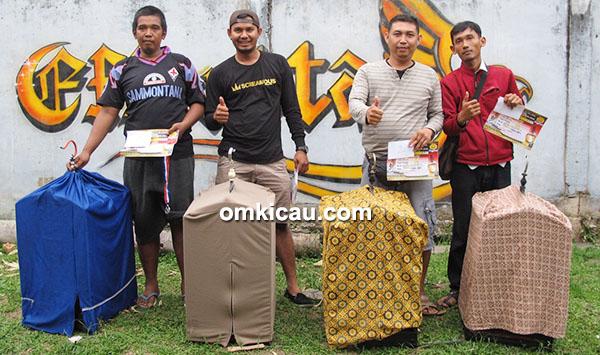 Juara 1-4 kacer Kelas Ebod Jaya
