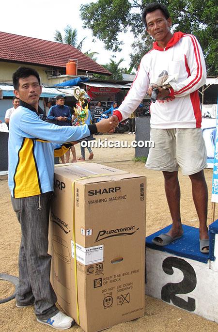 juara 2 merpati tinggian Shi Shuak Cup