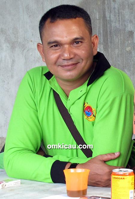 Om Arman, ketua Osco Petro BC