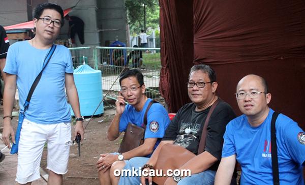 Om Daniel (kir), Om Awie, Bang Boy, dan Om Asen