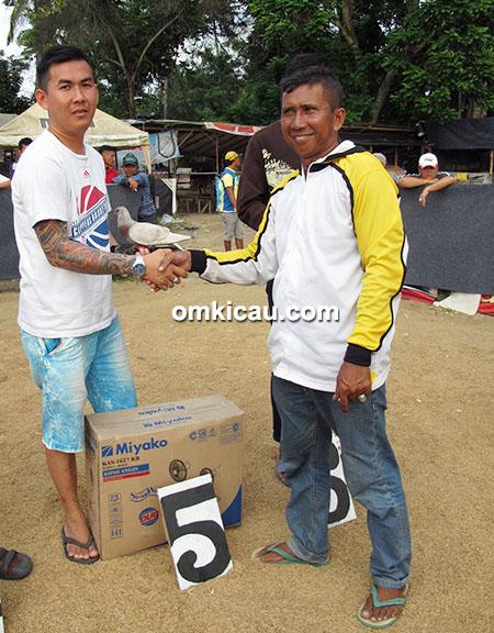 juara 5 merpati tinggian Shi Shuak Cup