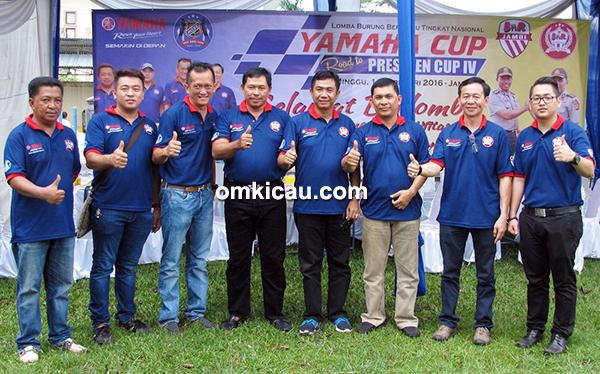 Wakapolda Jambi bersama panitia Yamaha Cup