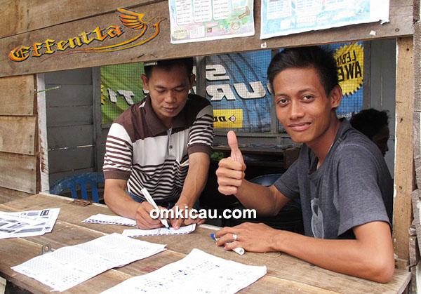 Om Suroto dan Om Ari