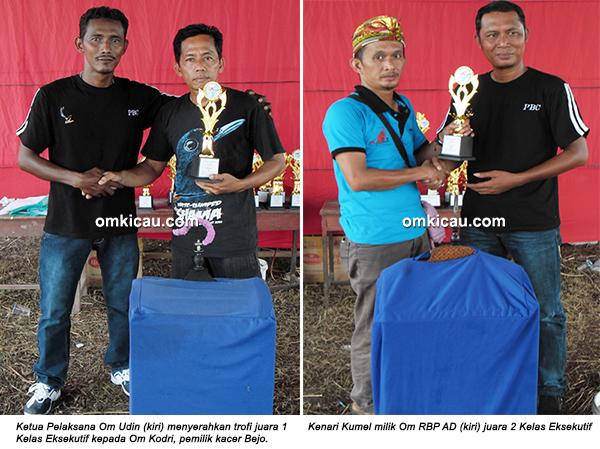 Permata BC Ogan Ilir - juara kenari eksekutif