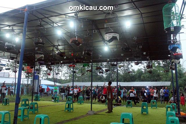 lomba burung berkicau Ronggolawers Cup 1 Bogor
