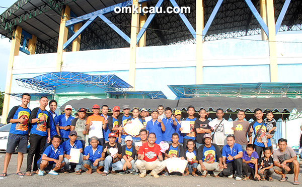 Dwi Warna BC juara umum team