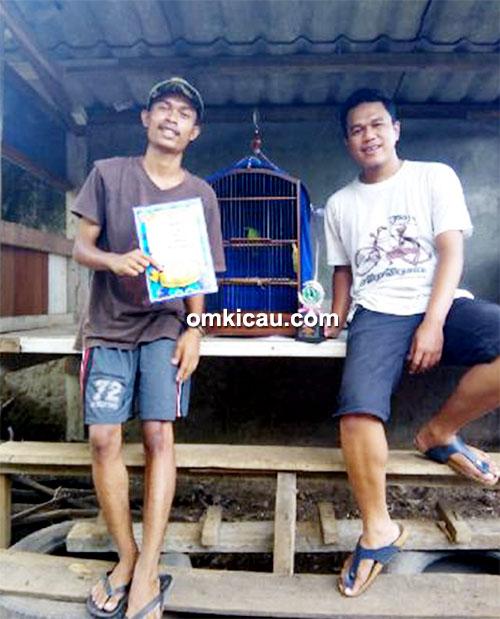Cucak ijo Bull Dog milik Om Bambang Arema