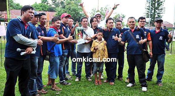 Jambi Team juara umum BC