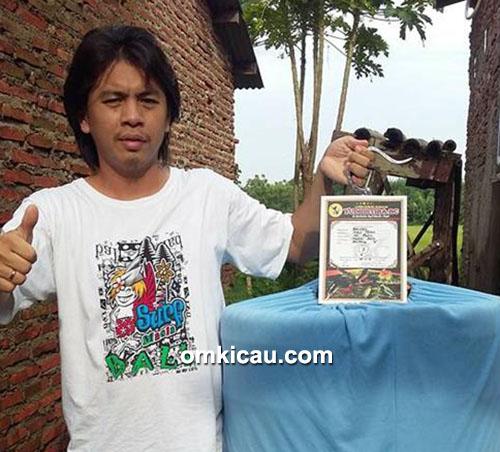 Om Rudy Cay dan murai batu Bandel