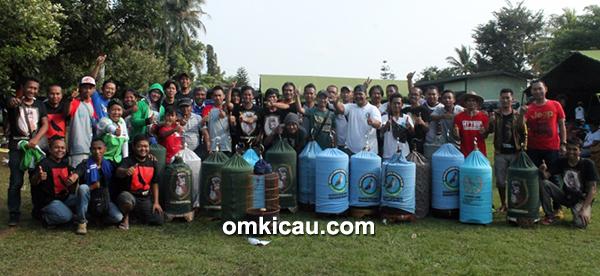 Para peserta di kelas branjangan