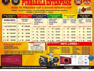 Brosur Lomba Burung Berkicau Purbakala Enterprise, Bogor, 1 Mei 2016