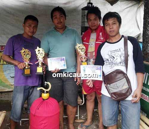 Latber Randu Alas BC - juara lovebird Bintang