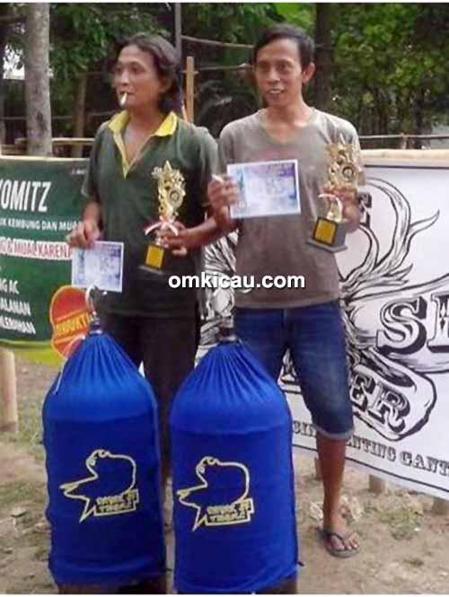 Latber Randu Alas BC - juara lovebird Mega Bintang