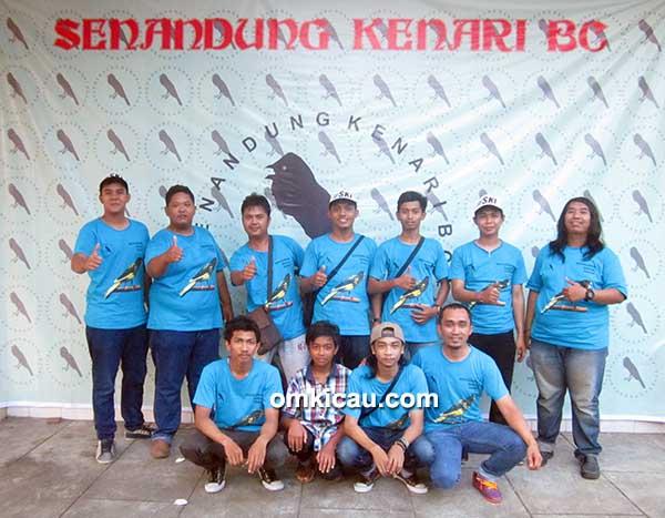 Panitia 5th Anniversary Senandung Kenari BC