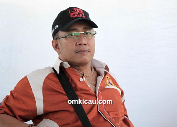 Om Budi Indo, ketua DPP Ronggolawe Nusantara