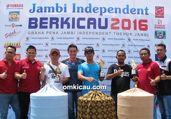 Jambi Independent Berkicau - juara murai batu