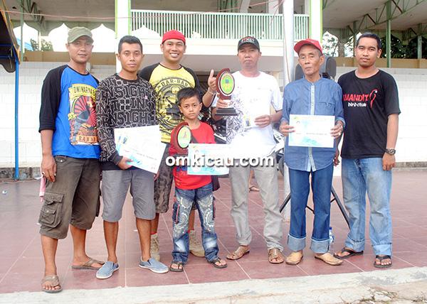 Amandit Dwiwarna BC juara umum team