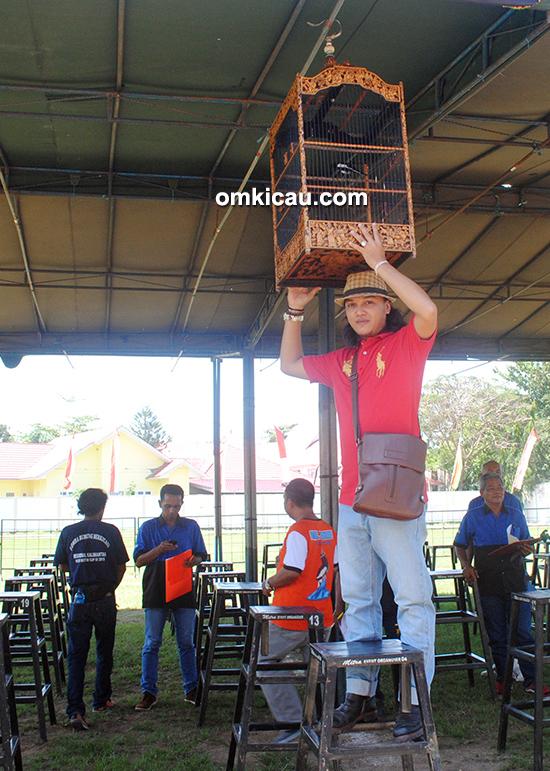 Lomba burung berkicau H Syahrujani Cup 2016