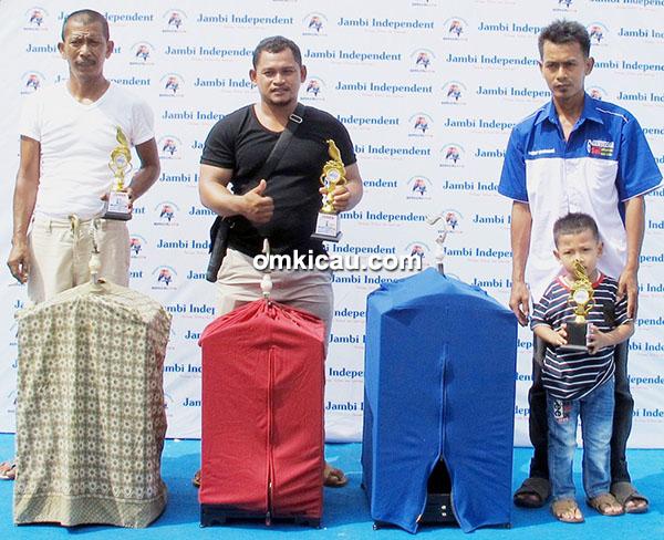 Jambi Independent Berkicau - juara kacer