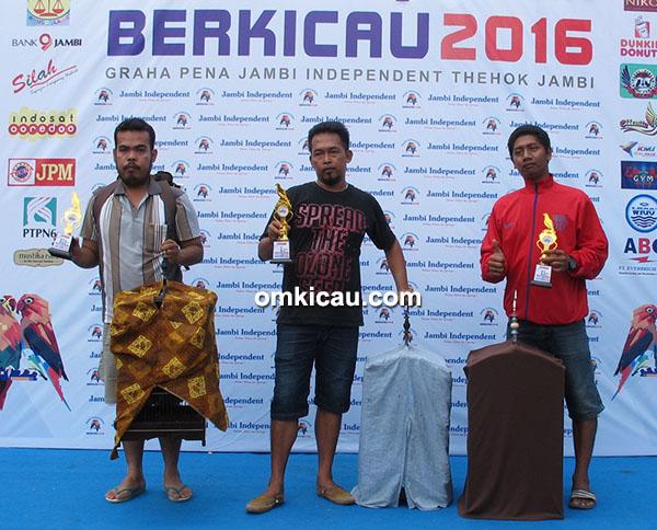 Jambi Independent Berkicau - juara kapas tembak