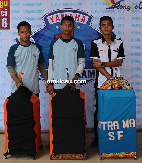 Yamaha Cup 1 Jambi - juara kenari