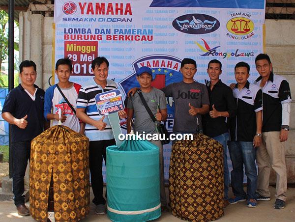 Yamaha Cup 1 Jambi - juara murai batu