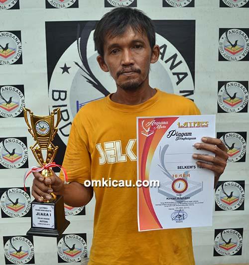 Angsana Muda Cilacap - juara kenari