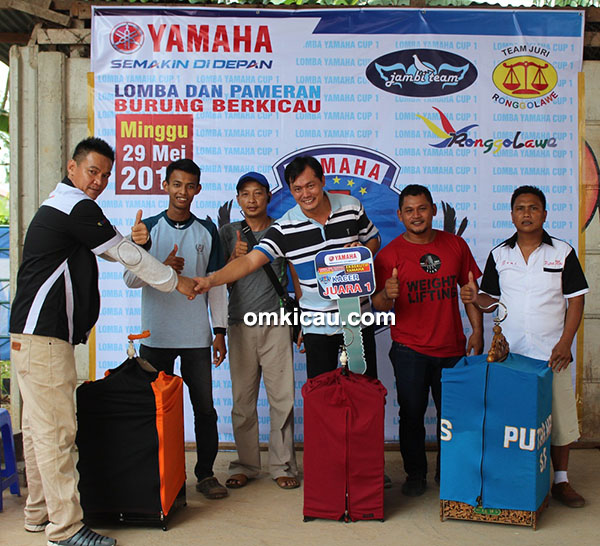 Yamaha Cup 1 Jambi - juara kacer
