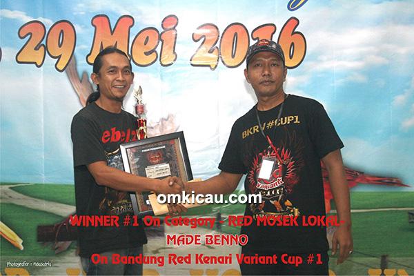 Juara Red Mosek Lokal