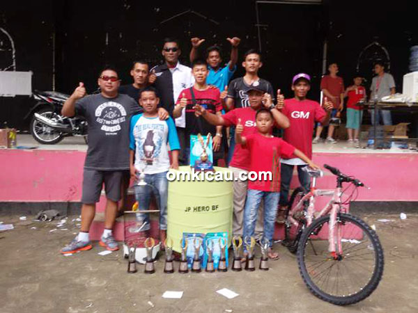 Laskar Pelangi juara umum BC