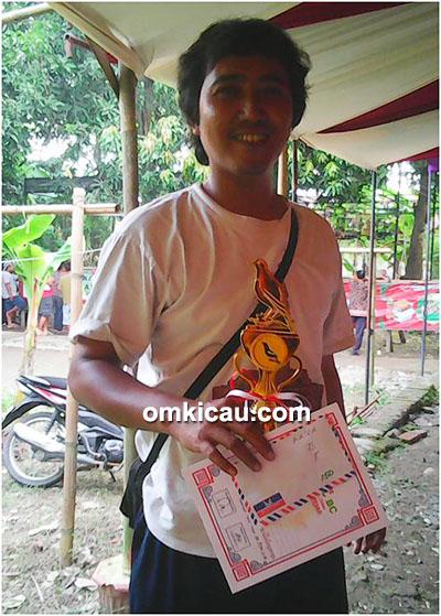 Om Adi (Saka Rosa BC), pemilik kacer Master